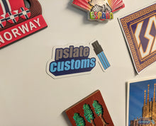 Load image into Gallery viewer, Pslate Customs Logo Magnet