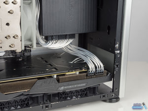 NCASE M1 6 Pin PCIE Unsleeved Custom Cable