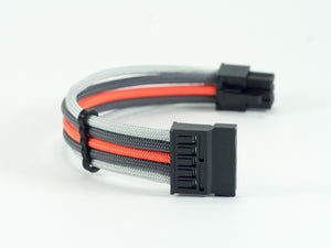 XTIA Xproto SATA Power Paracord Custom Sleeved Cable