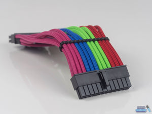 Lazer3D LZ7 24 Pin Paracord Custom Sleeved Cable