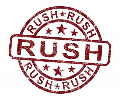 Rush Processing - 12 Pin Unsleeved (+$20)