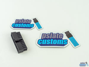 Pslate Customs Logo Magnet
