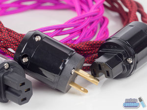 Custom Paracord Sleeved AC Power Cable