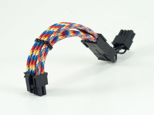 Cooler Master NR200 8 (6+2) Pin PCIE Paracord Custom Sleeved Cable