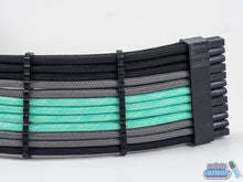 Load image into Gallery viewer, NCASE M1 24 Pin Paracord Custom Sleeved Cable