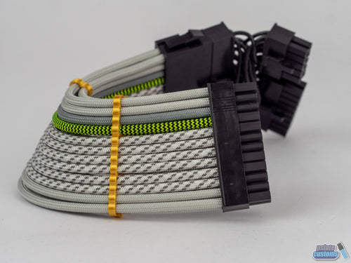 Sliger S610/S620 24 Pin Paracord Custom Sleeved Cable
