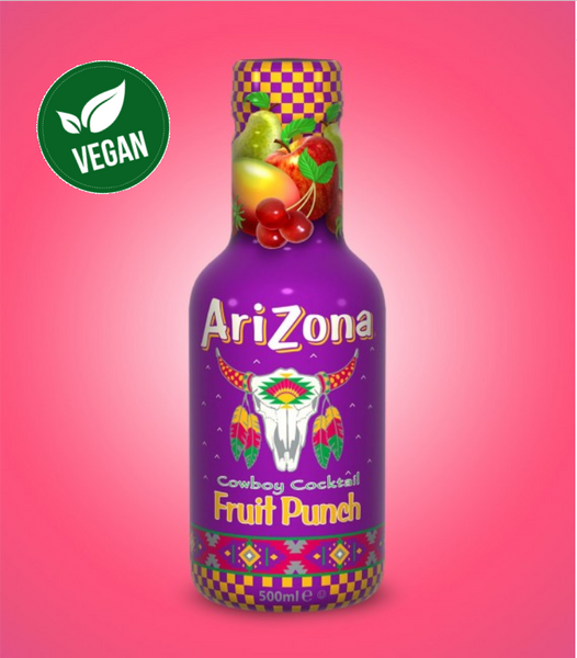 Arizona Fruit Punch 500ml X 12