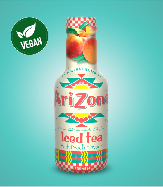 Arizona Iced Tea Peach 500ml X 12
