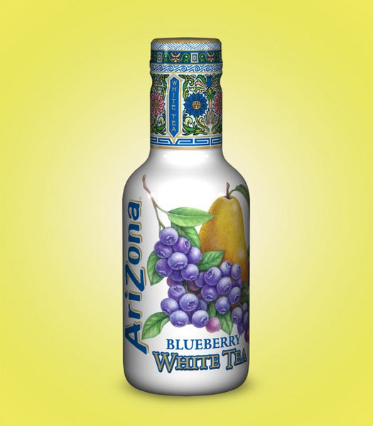 Arizona Blueberry White Tea 500ml X 12