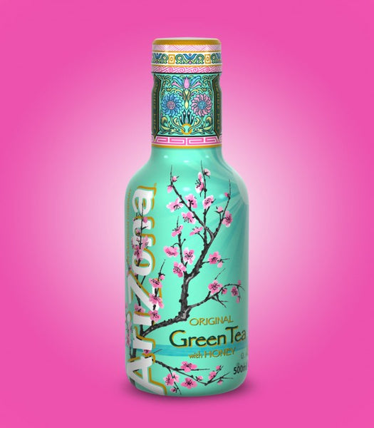 Arizona Original Green Tea with Honey 500ml X 12