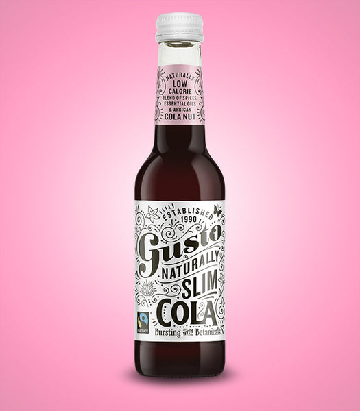 Gusto Naturally Slim Cola 12PK