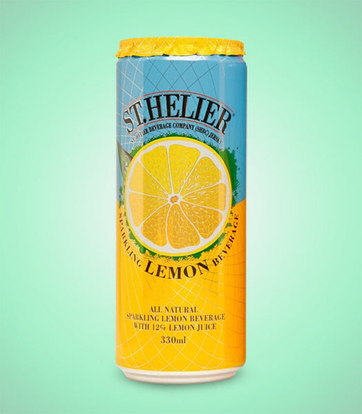 St Helier Sparkling Lemon 330ml X 12