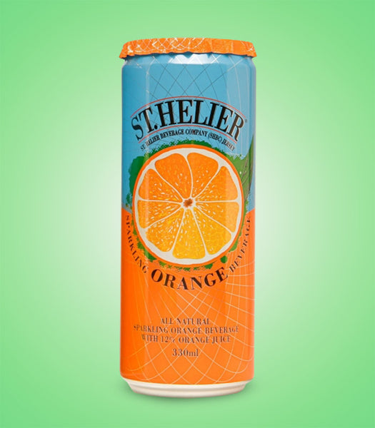 St Helier Sparking Orange 330ml X 12