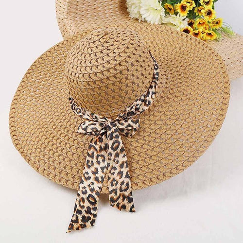 New Women Beach Hat Lady Derby Cap Wide Brim Floppy Fold Summer Bohemia Sun Straw Hat
