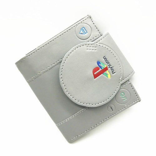 Playstation Wallet Youth Student Short Transverse Game Purse Console Shape Bifold Coin Purse