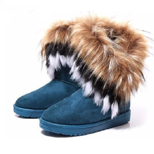 Warm Winter Women Snow Boots With Fur Female Footwear Ladies Winter Shoes Ankle Boots Ladies Casual Shoes Women Boots