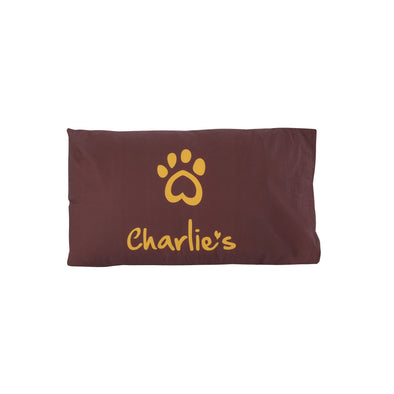 Pet Pillowcase Terracotta