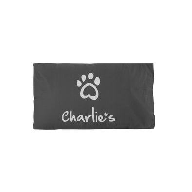 Pet Pillowcase Charcoal