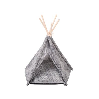 Pet Tipi- Wood Grain