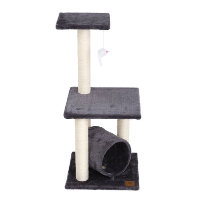 Three Tier Cat Tree - Charcoal