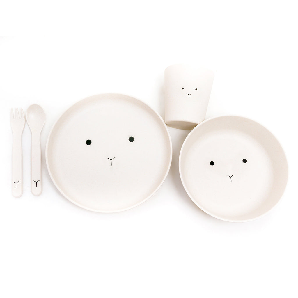 Bamboo Dinner Set Bear