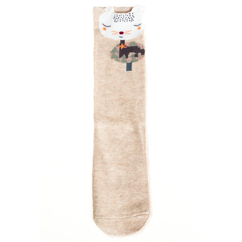 Sock Set 1 (Mustard, Grey, Tan) Medium