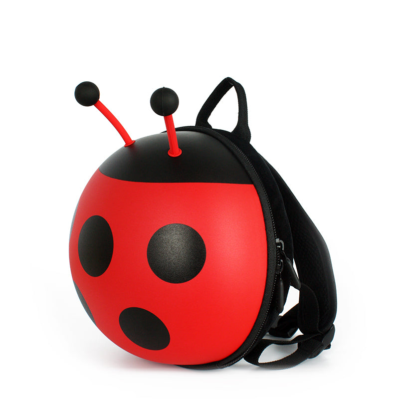Supercute Ladybug Backpack w Harness