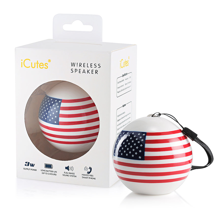 American flag Bluetooth speaker