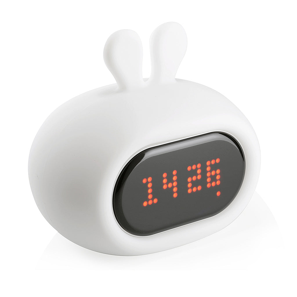Bunny clock night light