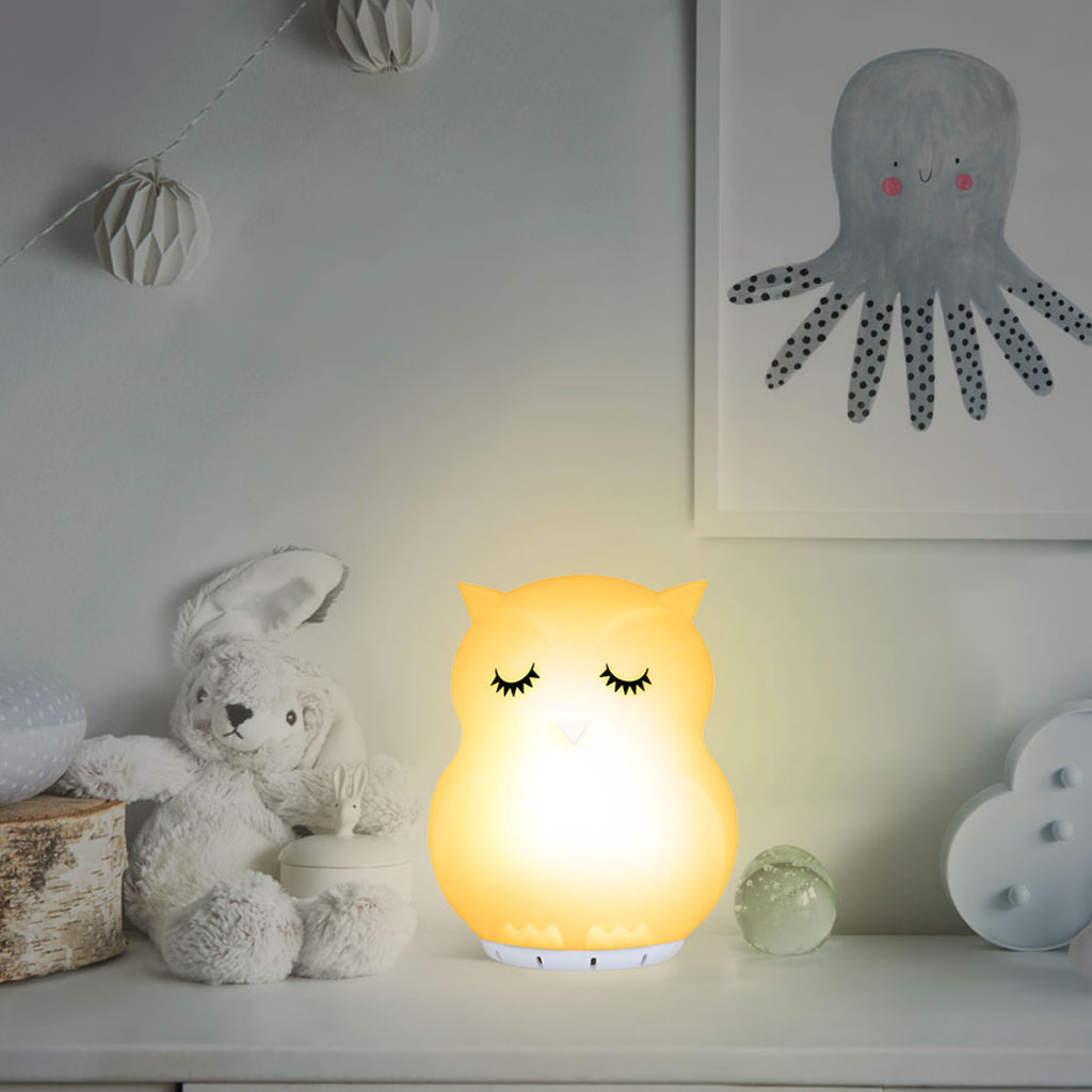 Owl light Bluetooth speaker