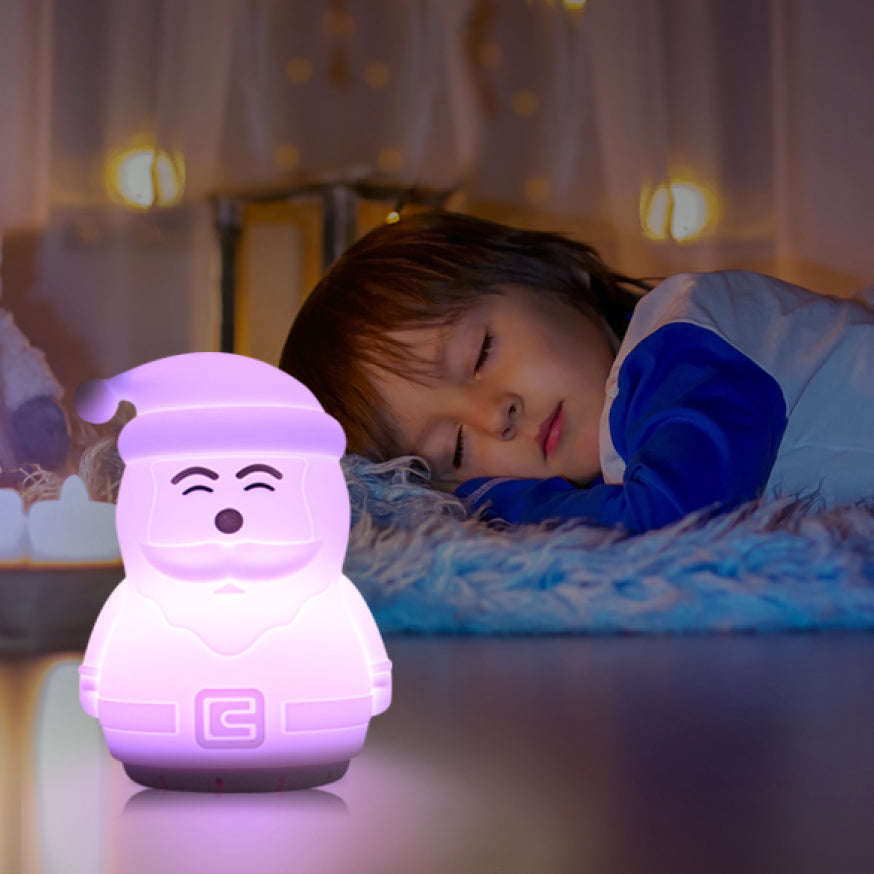 Santa night light speaker