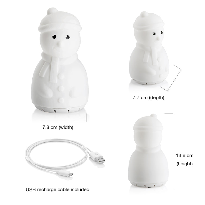 Snowman light Bluetooth speaker