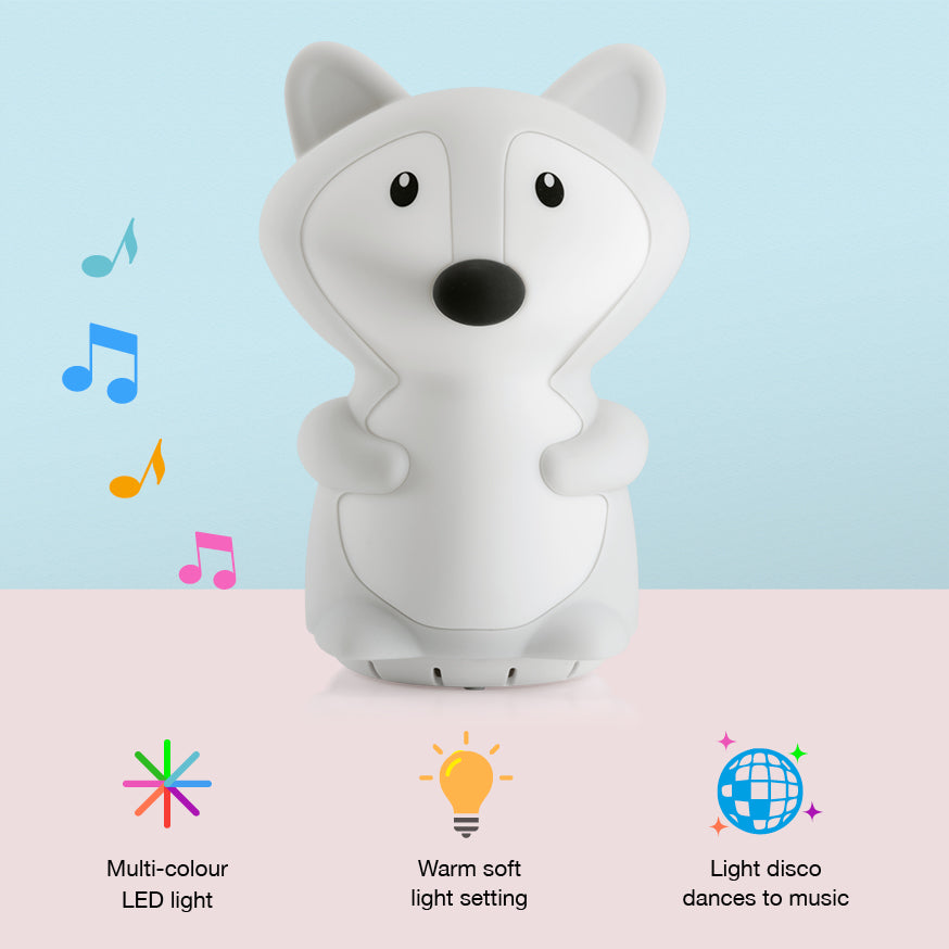 Fox night light speaker