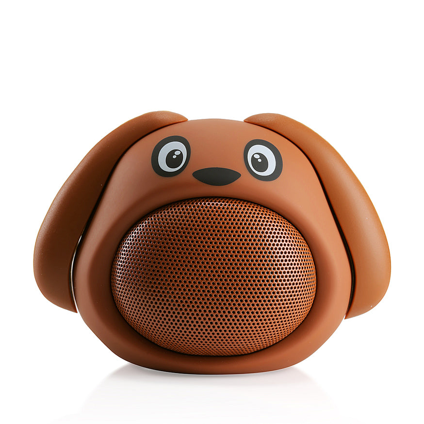 Brown dog Bluetooth speaker
