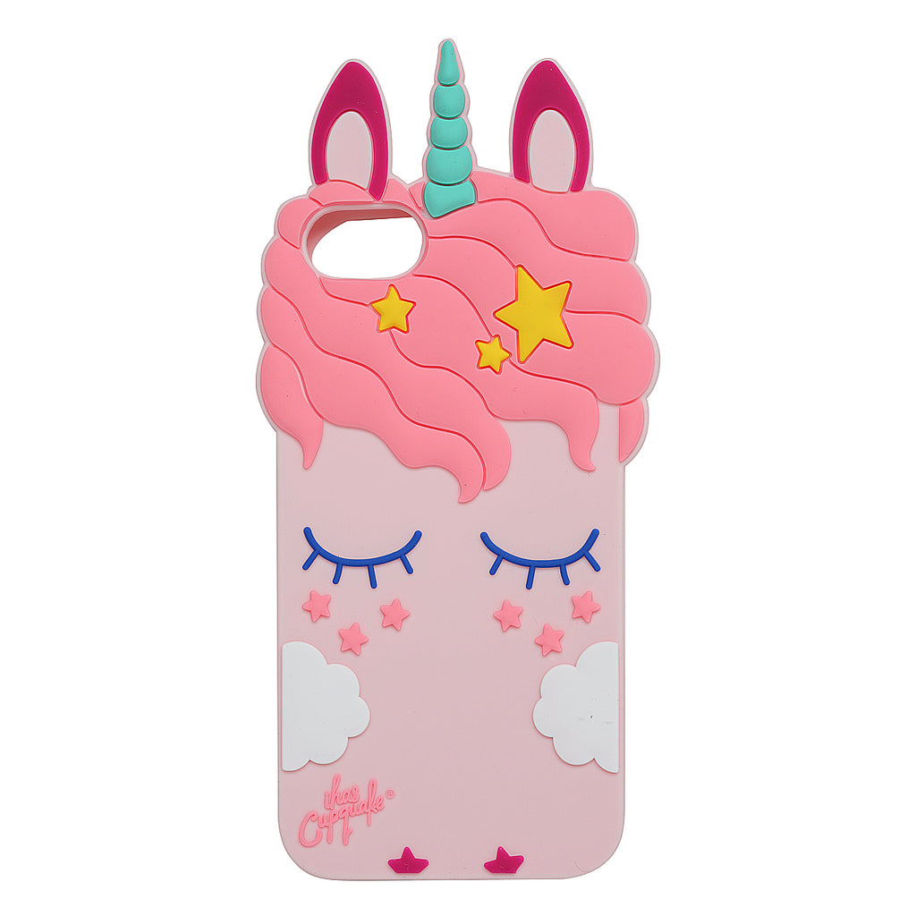Pink Sleeping Unicorn iPhone 7/8 Case