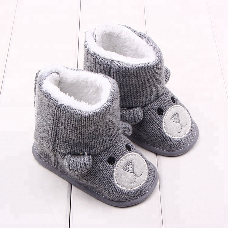 Baby Bear Boots - Grey