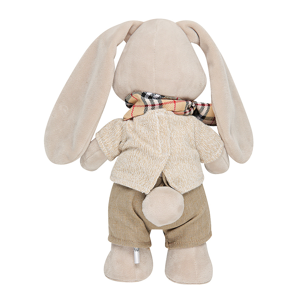 Plush Bunny with Scarf