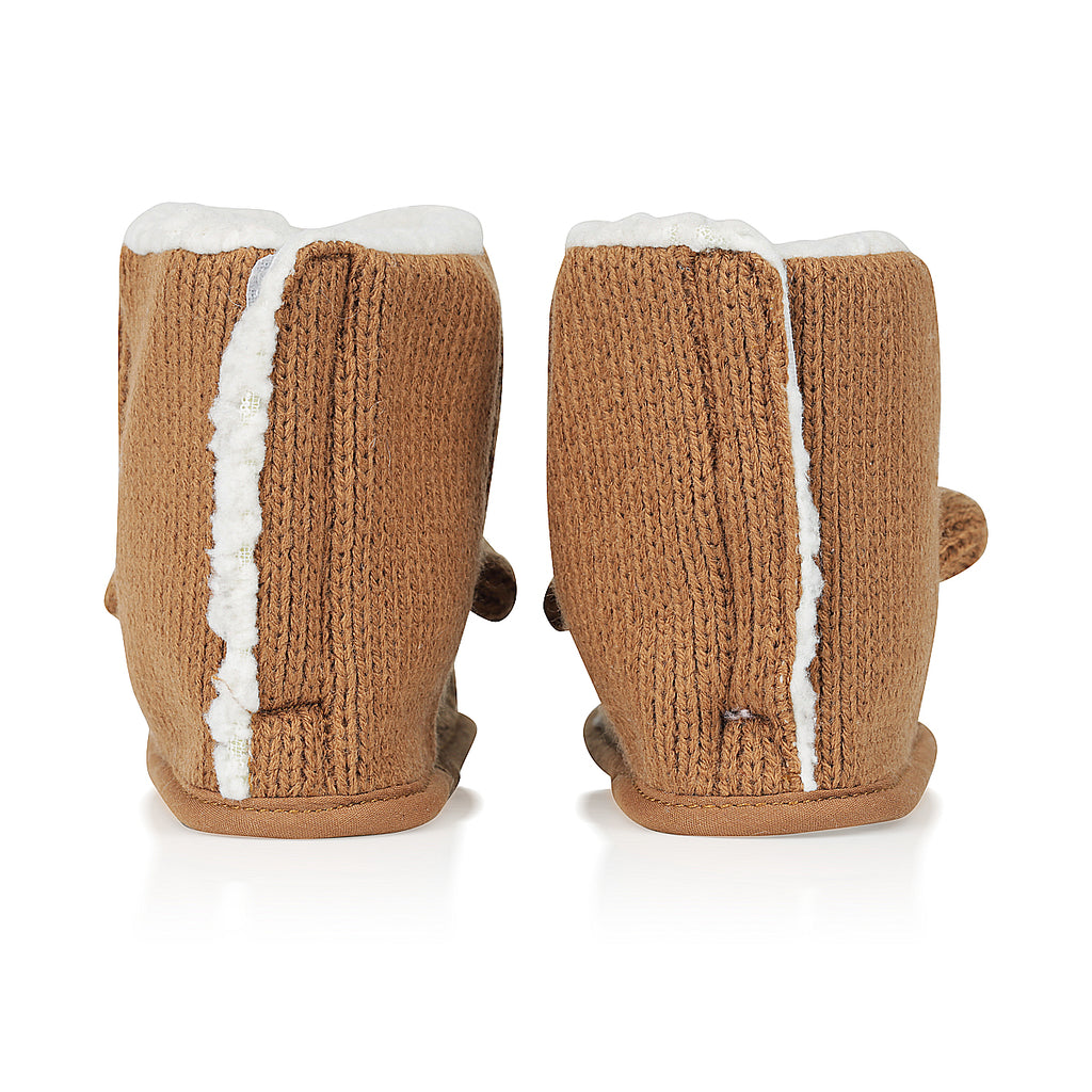 Baby Bear Boots - Brown