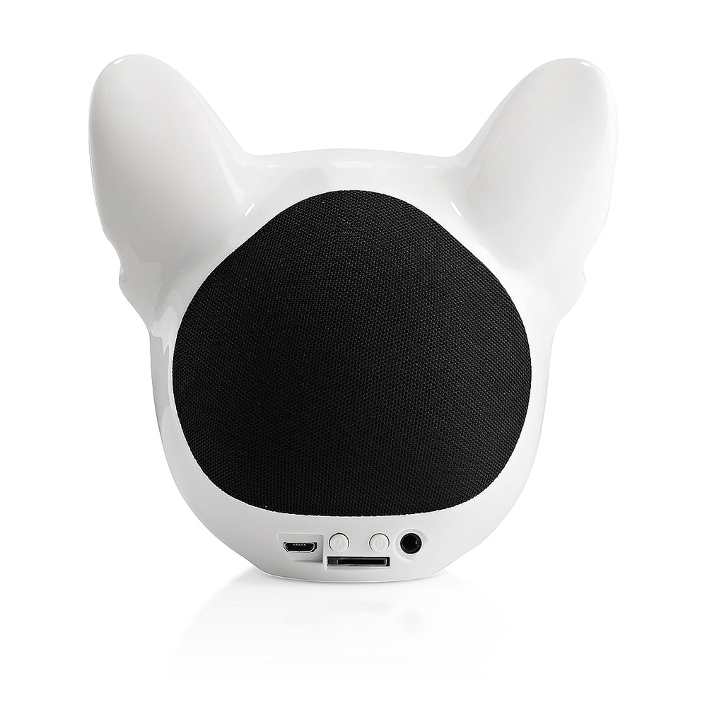 British Dog Bluetooth Speaker - White