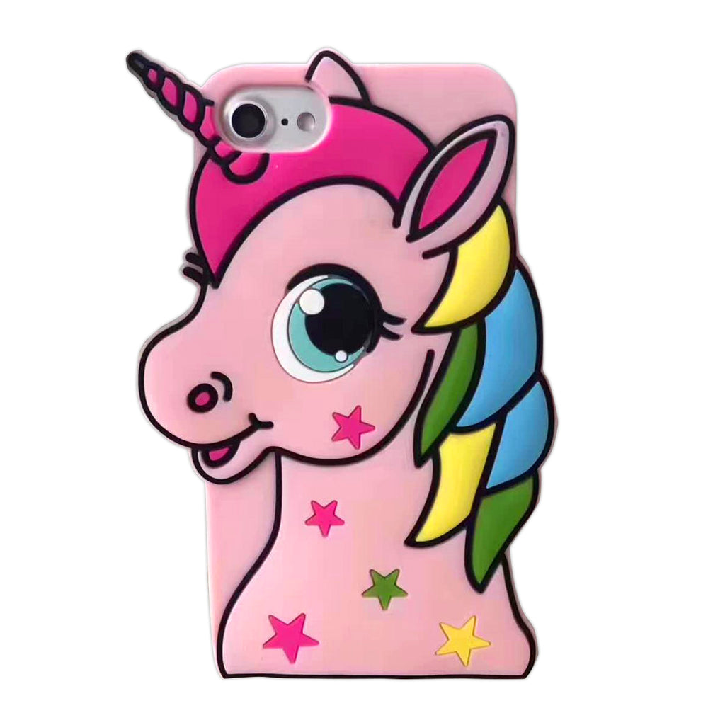 Cartoon Unicorn iPhone X Case