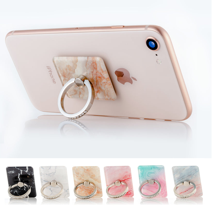 Peach mobile phone ring stand