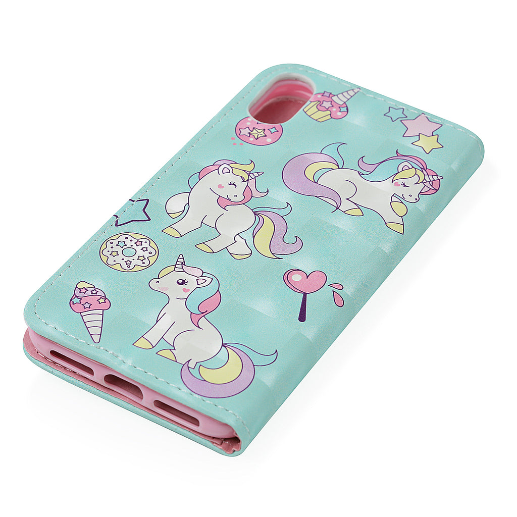 Unicorn Leather iPhone X Case