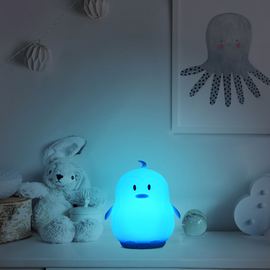 Penguin night light speaker