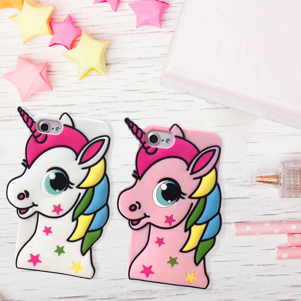 Cartoon Unicorn iPhone 7/8 Plus Case