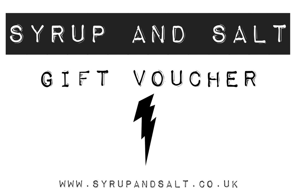 syrup and salt gift voucher