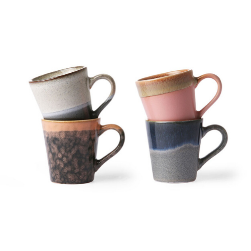 set of 4 espresso mugs hk living