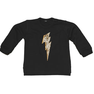 baby sweatshirt with lightning bolt