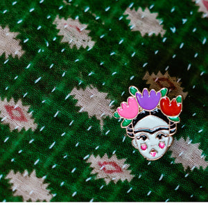 Frida Kahlo Pin Badge
