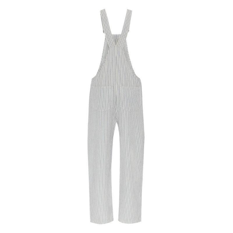 Striped Joy Dungarees by Komodo (Ink)