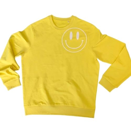 Yellow Smiley Sweatshirt